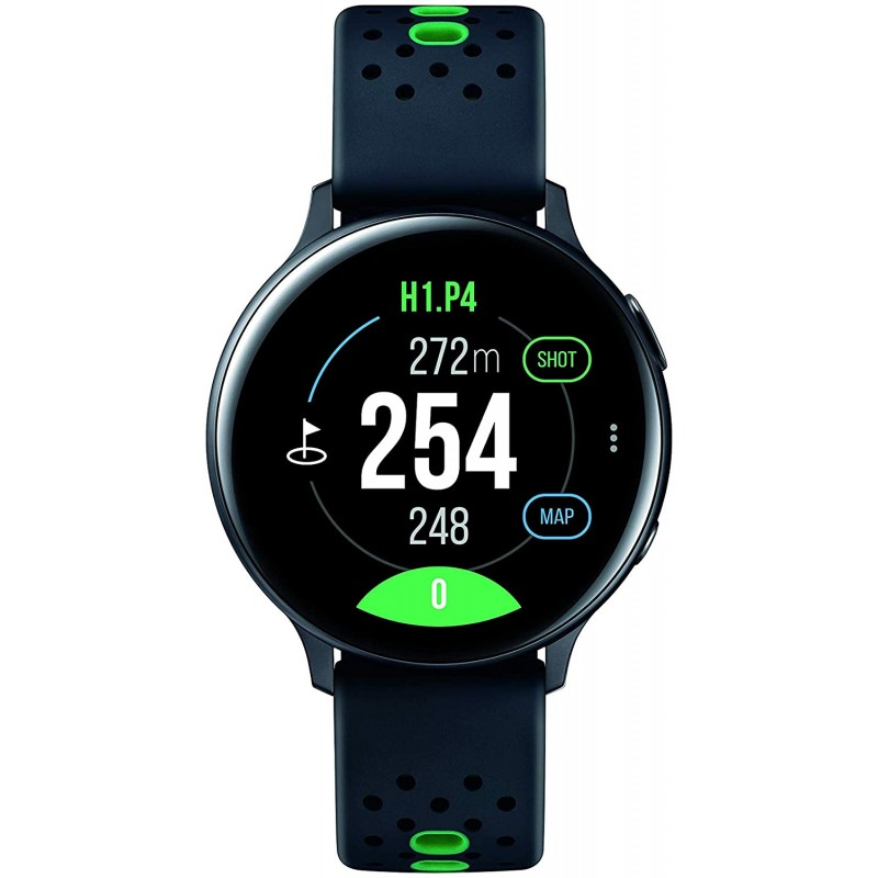 Samsung Electronics Galaxy Watch Active2 44mm BT (Golf Edition) Black-US Version with Warranty (SM-R820NZKGGFU), 단일옵션, 단일옵션