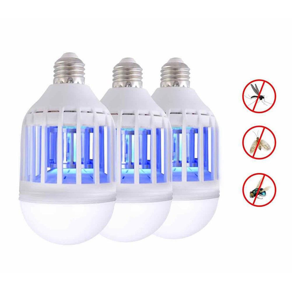 LED 전기 곤충 모기 킬러 플라이 곤충 버그 트랩 램프 전구, 110V^+500