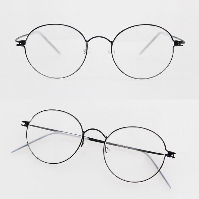 eyelove 린드버그 모르텐 스타일 초경량 가벼운 베타 티타늄 안경테