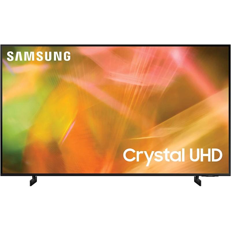 삼성 85인치급 크리스탈 UHD AU8000 시리즈 - 알렉사 빌트인이 탑재된 4K UHD 듀얼 LED HDR 스마트 TV(UN85AU8000FXZA 2021, 단일옵션, 단일옵션 (POP 5511182363)