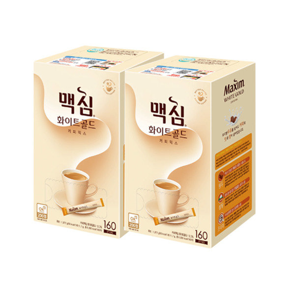 [맥심] 화이트골드 커피믹스 320T, 상세 설명 참조, 상세 설명 참조