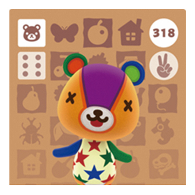 [호환품] 닌텐도 스위치 동물의숲 인기주민 아미보 카드 칩, 1개, 패치