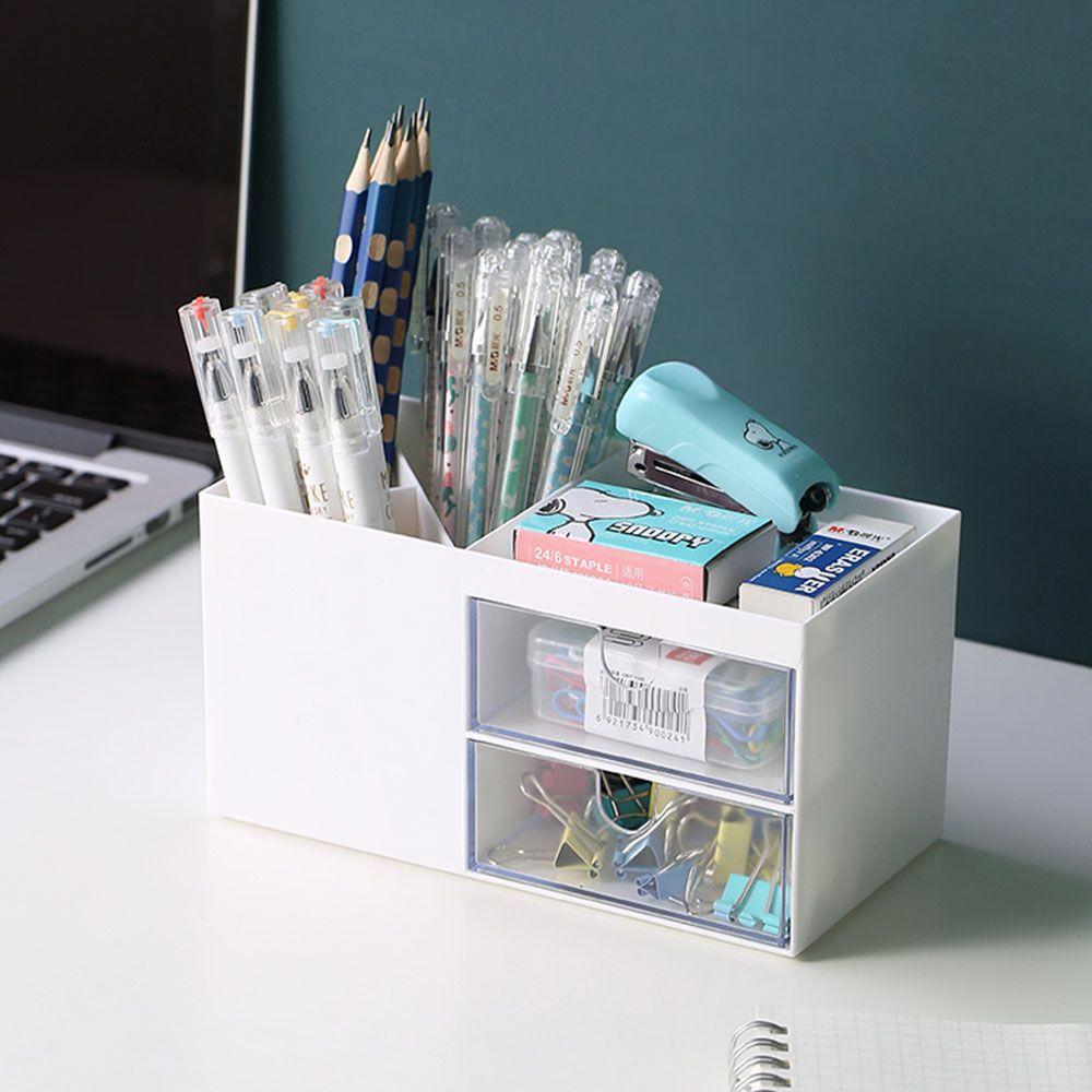 pnn28947 멀티 DIY 다용도 펜 홀더 3color 그로우연필꽂이 허니콤연필꽂이 고급연필꽂이 이케아연필꽂이 튤립펜꽂이-#$nuripina, 화이트