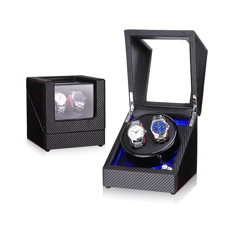 LED시계와인더 2구 오토매틱시계보관함 와치와인더 시계케이스