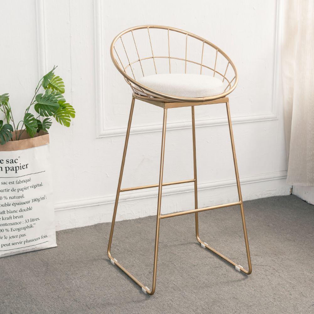 SHAN 북유럽 골드 아일랜드식탁 의자 바텐더, 골드_45cm