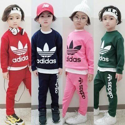 [스카이] 유아 아동복 가을 상하복 트레이닝복 3종 세트