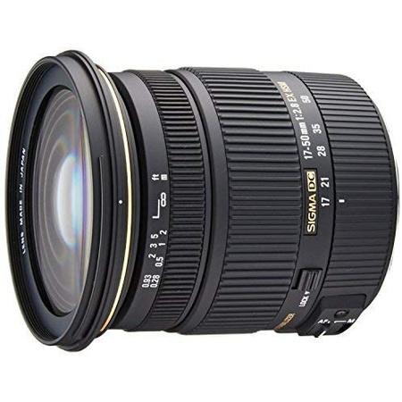 해외1465571 Sigma 17-50mm f2.8 EX DC OS HSM FLD Large Aperture Standard Zoom 줌 렌즈 for Canon 캐논, 상세 설명 참조0