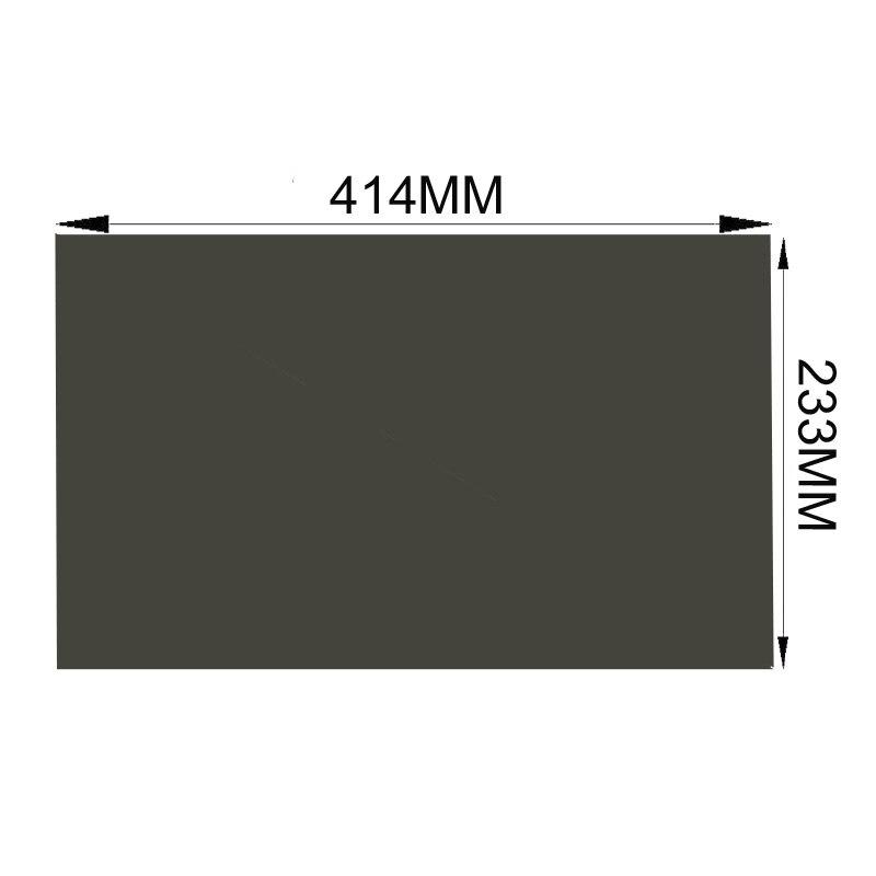 새로운 18.5inch 135 학위 매트 광택 414mm 233mm 모니터 편광 편광 필름 TFT