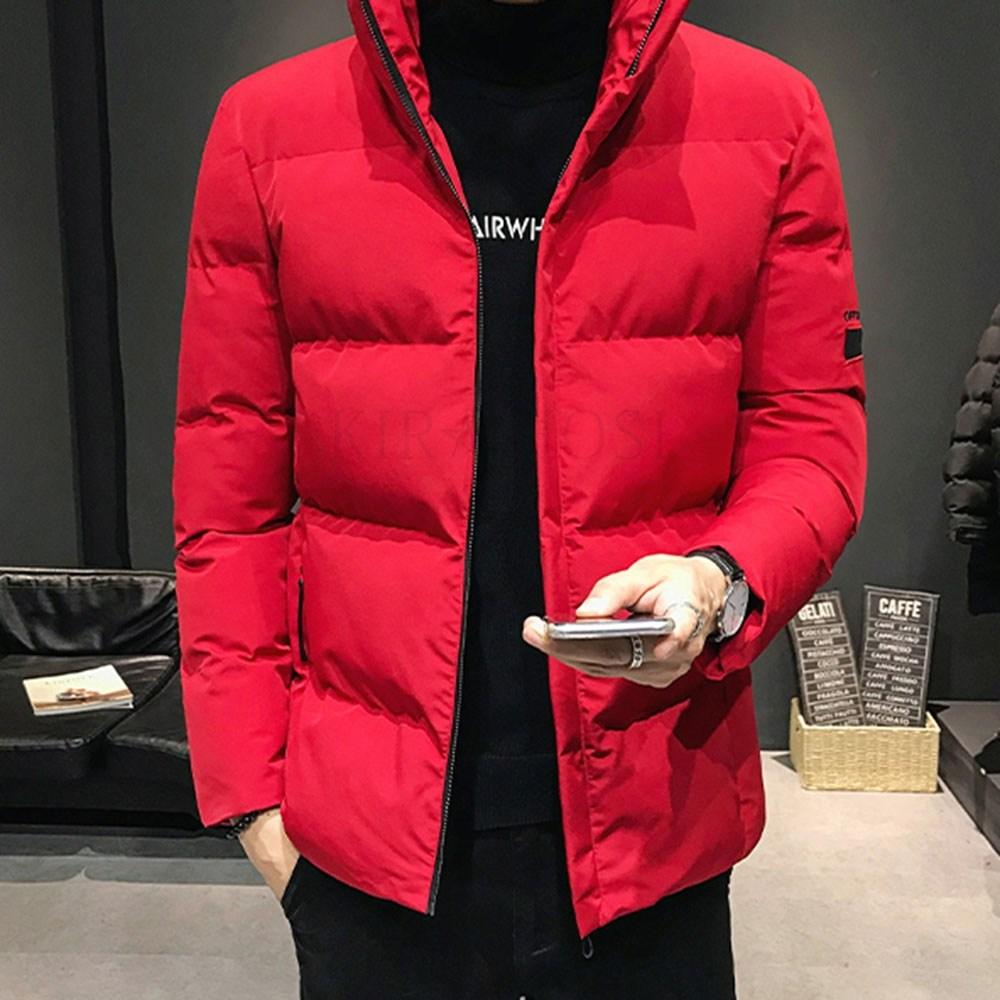 kirahosi 남자 블루종 자켓 간절기 패딩 겨울 보온 점퍼 숏 71호+덧신증정 R19t71b