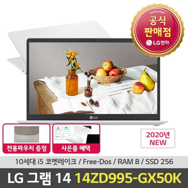 LG전자 14ZD995-GX50K, 8GB, 256GB, 미포함