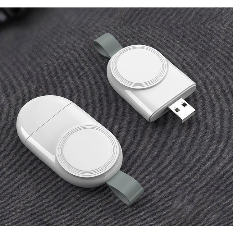 애플워치 마그네틱 USB내장 무선 충전기 Apple Watch 전기종 호환