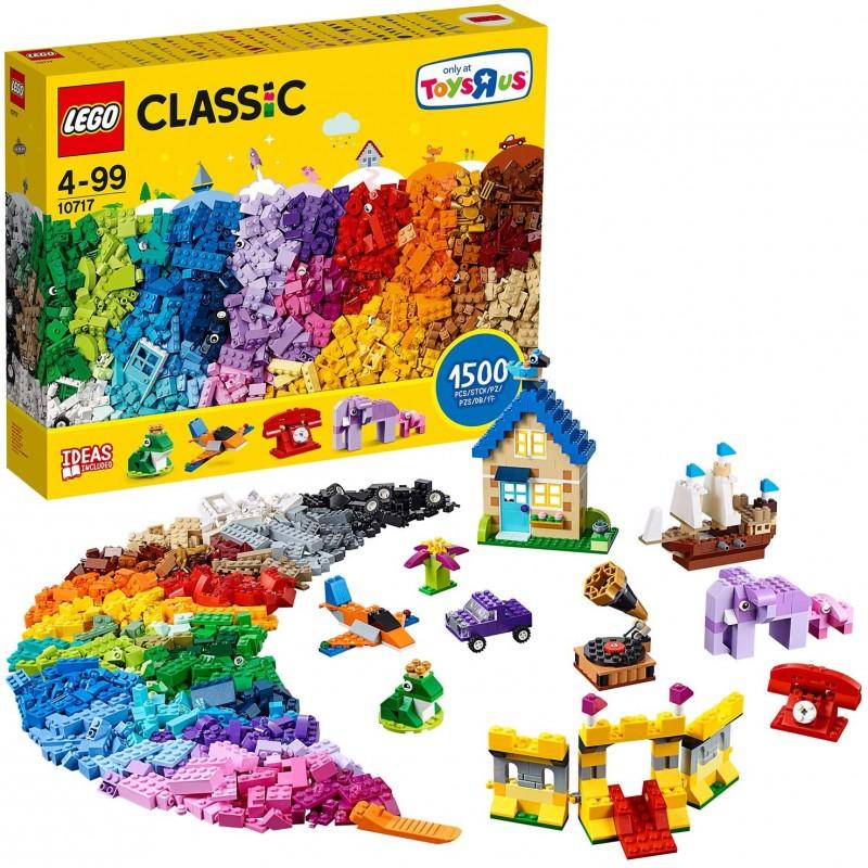 LEGO 클래식 10717 블록 블록 블록 1500 피스 세트, 자세한 내용은 참조