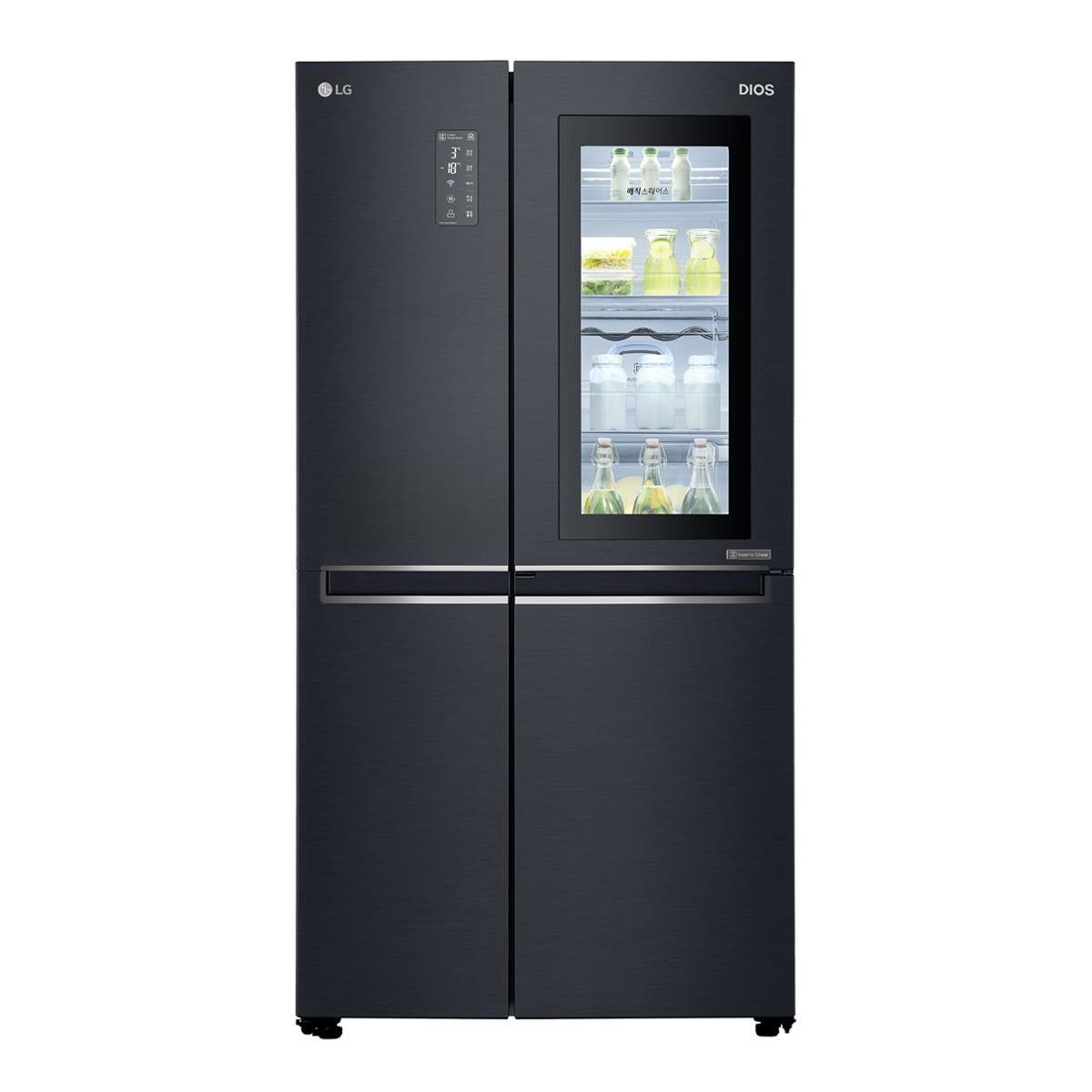 엘지 디오스 노크온 매직스페이스 냉장고 636L S631MC75Q
