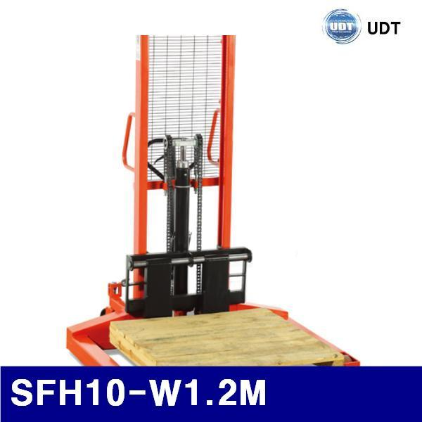 UDT (반품불가)(화물착불)UDT 5906055 스태커(대) SFH10-W1.2M 1 000kg/262kg (1EA)
