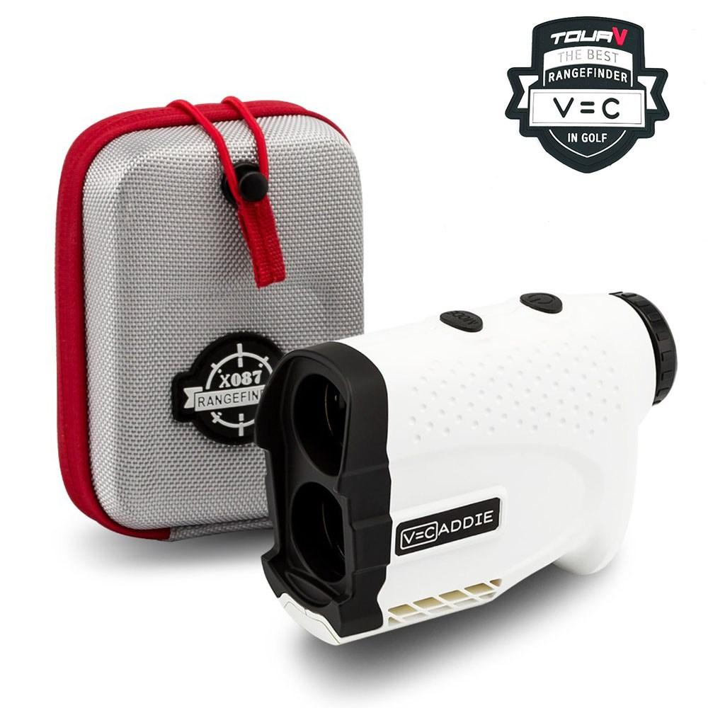 [브이캐디] 흰색 골프거리측정기 레이저거리측정기 졸트 슬리브 하드케이스증정