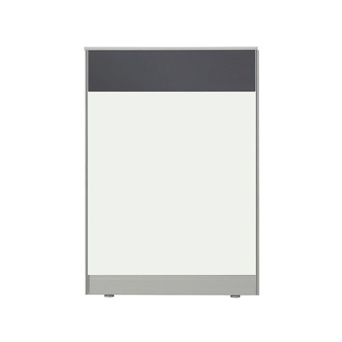 더인파티션 45T PVC 컬러 파티션 사무실 파티션/사무용 칸막이, 높이1200파티션-돌그레이(PCPG-DW)