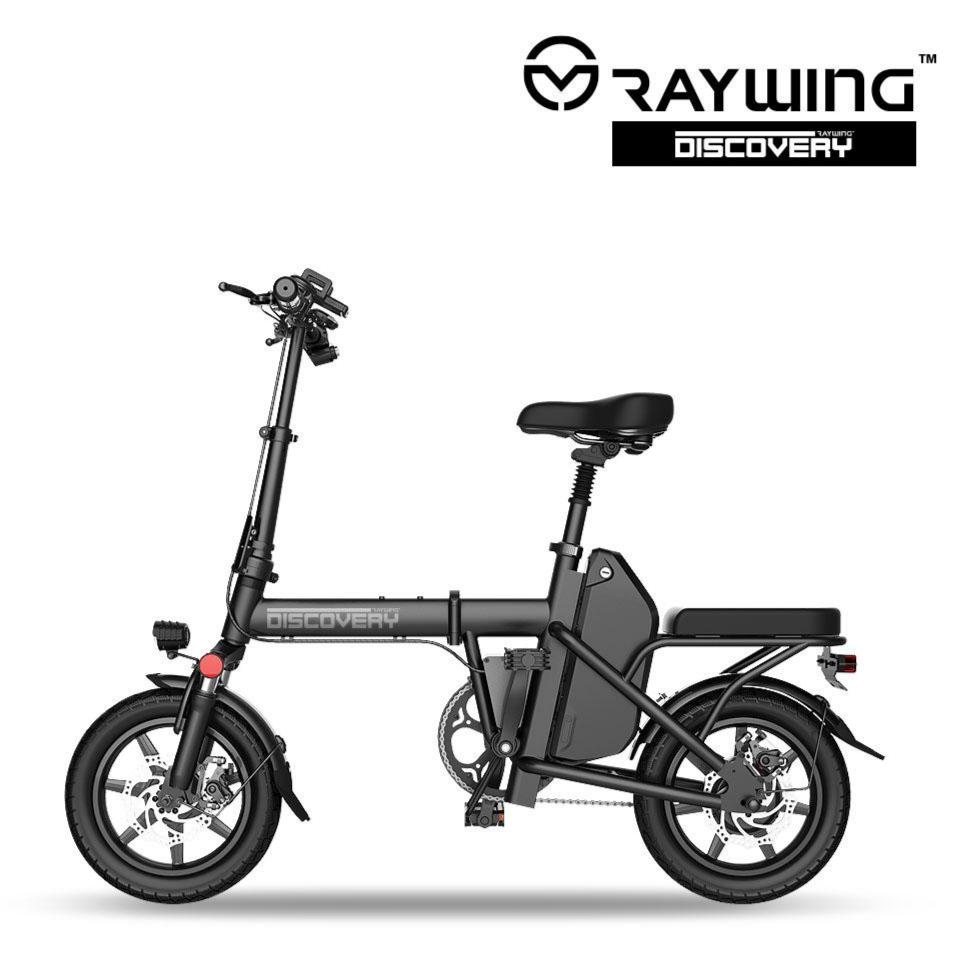레이윙 디스커버리 전기자전거 48V 14인치 미니벨로, D5-5.2Ah