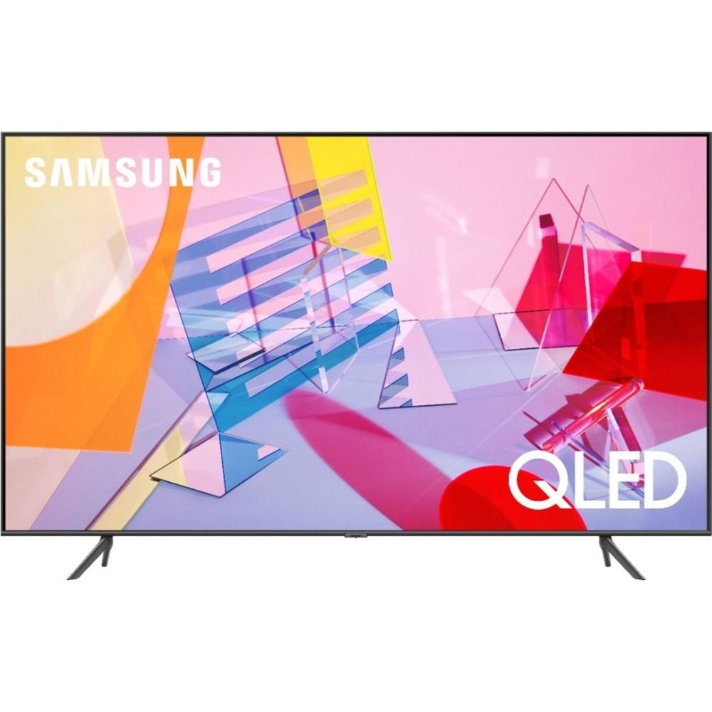 삼성전자 2020년형 클래스 QLED Q60 시리즈 4K UHD HDR 스마트 TV 55인치 QN55Q60TAFXZA, 스탠드 (POP 2354125618)