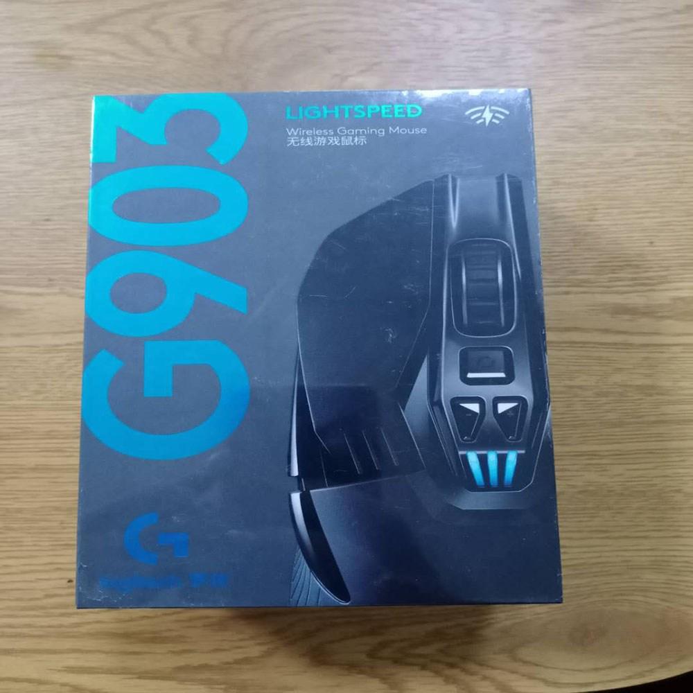 로지텍 G903 HERO LIGHTSPEED 무선 마우스 게이밍 (정품 새제품), 블랙