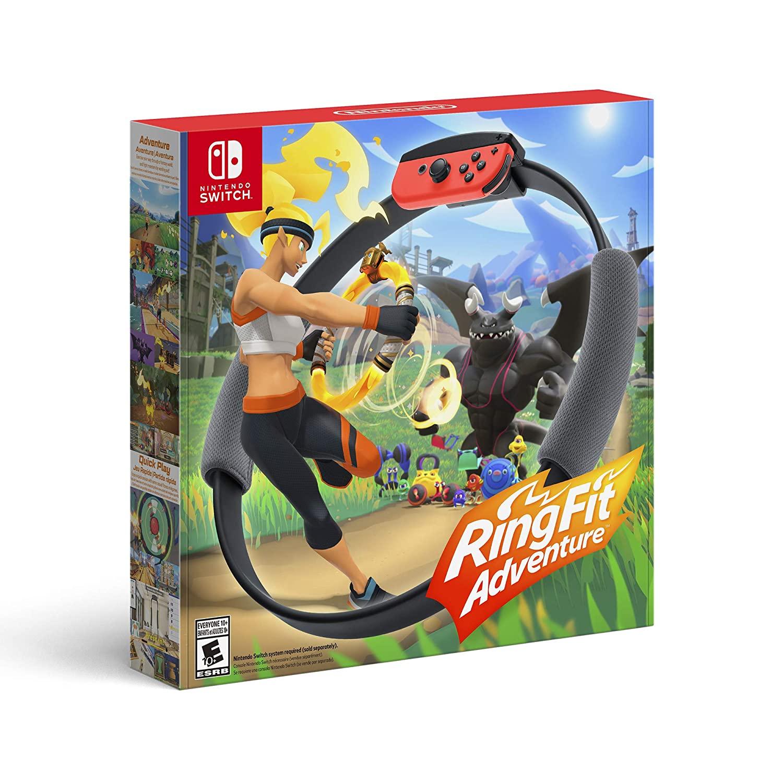 [이라운드몰]Nintendo 링피트 스위치 어드벤처 세트, 단품