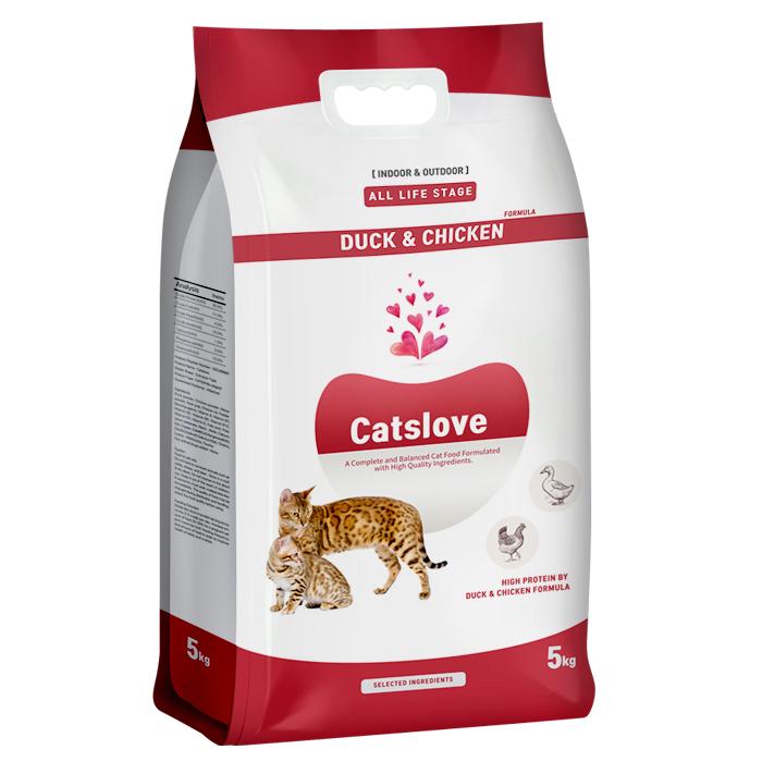 캣츠러브 5kg 전연령 고양이사료
