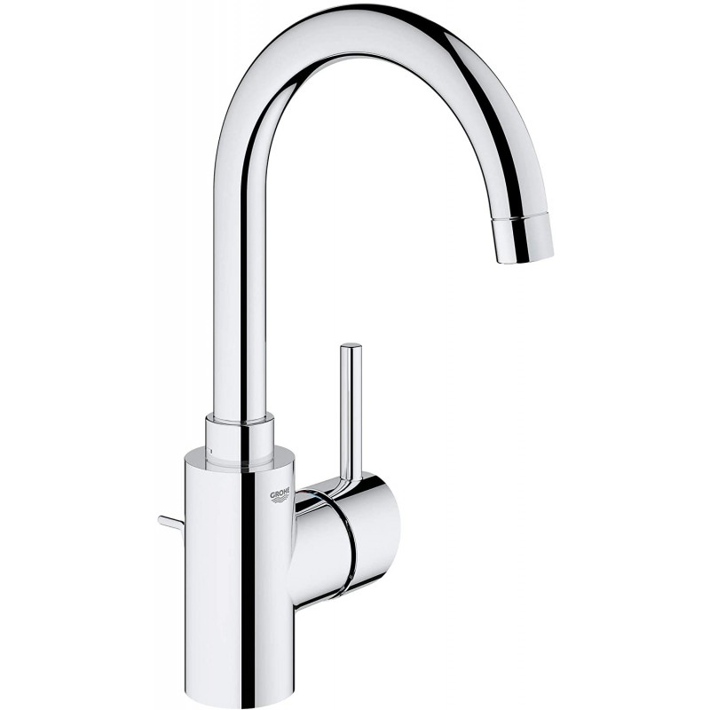 Grohe 32138002 Concetto 싱글 핸들 욕실 수전 Starlight 크롬, 1