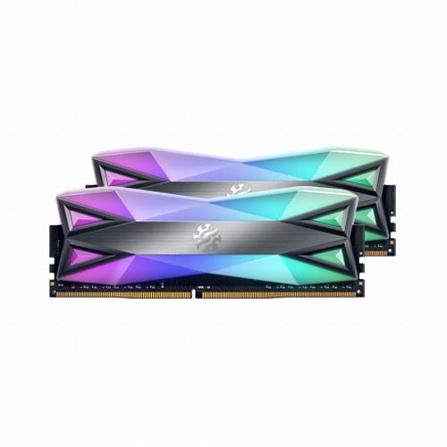 ADATA XPG DDR4 16G PC4-33000 CL19 SPECTRIX D60G RGB 19 (8Gx2), 단일상품