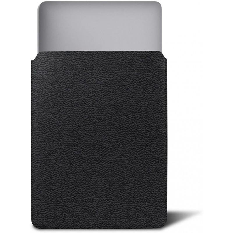 루크린 - 맥북 호환 커버 - 블랙 - 가죽 곡물©, 단일상품