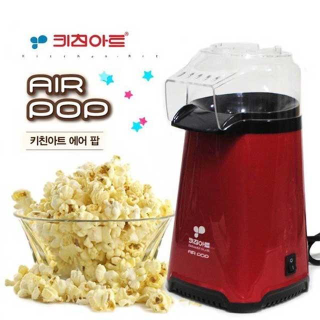 홈키친 / 주방 조리 도구/ 컴팩트형 popcorn 기기(열전도율이 우수한 알루미늄 내부용기), PK-219JT