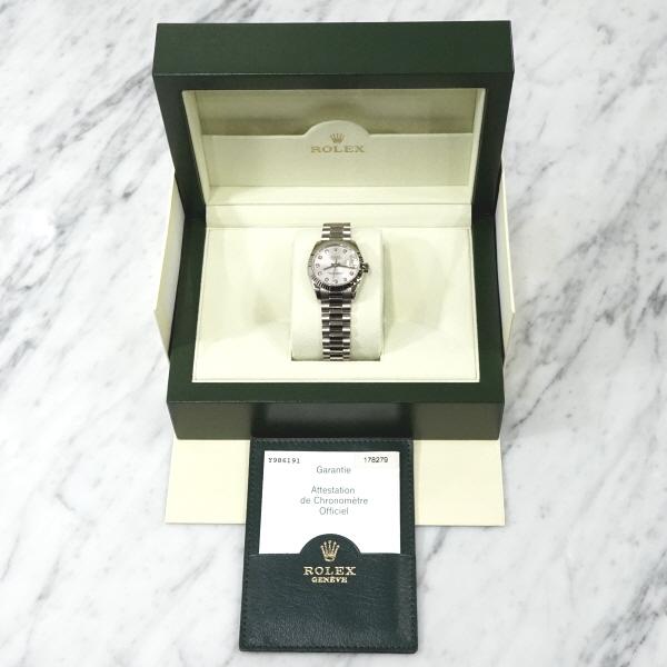 [와이즈럭스]롤렉스 178279 18K화이트 데이저스트 시계 FST