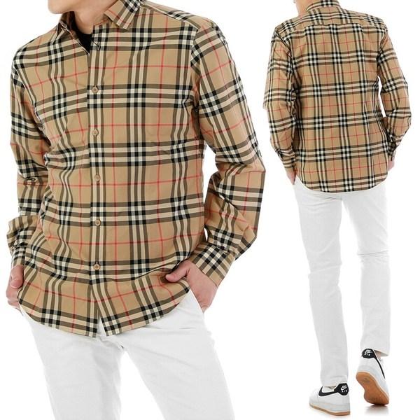 Burberry 버버리 빈티지 체크 코튼 포플린 셔츠 8020863-2-5509358644