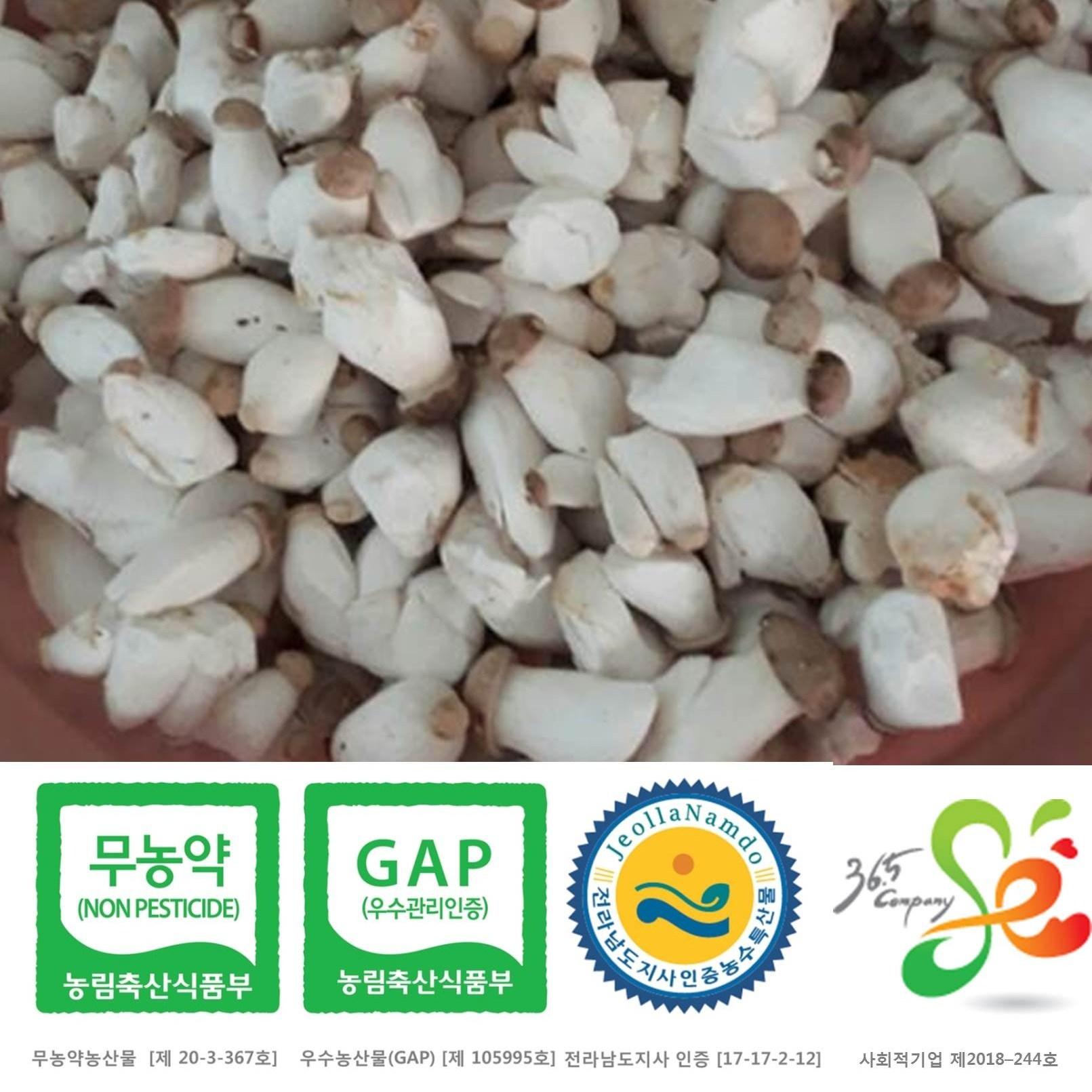 새송이는마니꺼 새송이버섯, 1box, 1kg조림(미니)