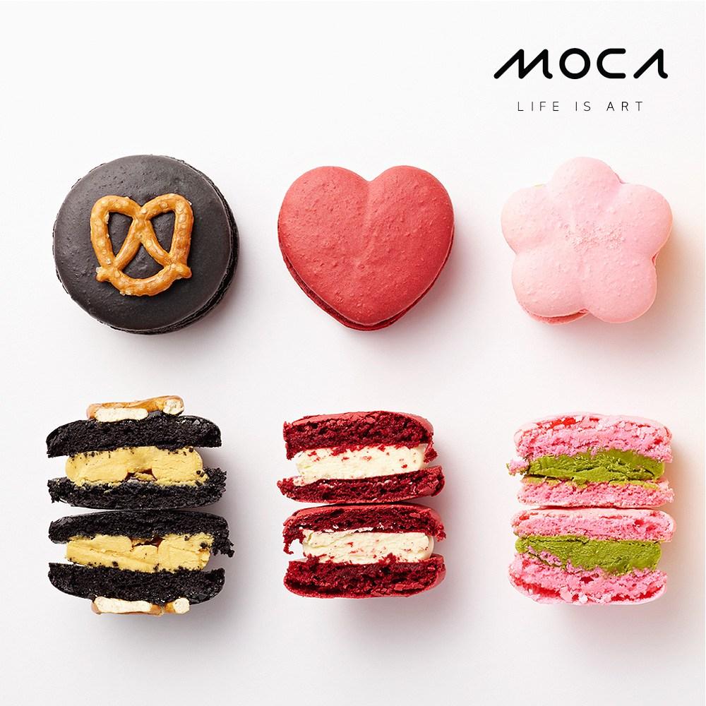 모카엔코 디자인마카롱 3종세트1 마카롱 디저트 케이크 빵 배달, 1개