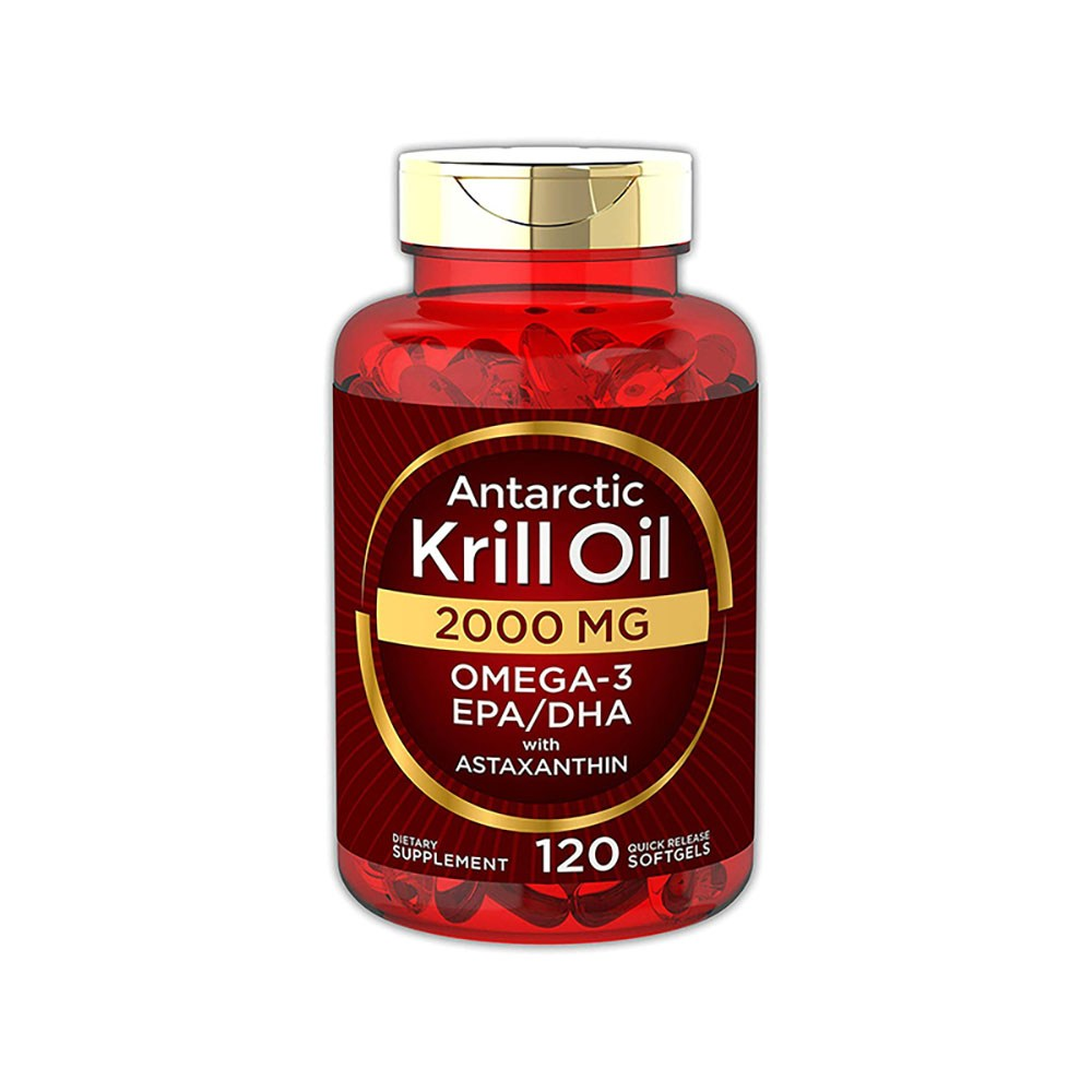 Carlyle Krill Oil 칼라일 남극 크릴오일 2000 mg 120정, 1개