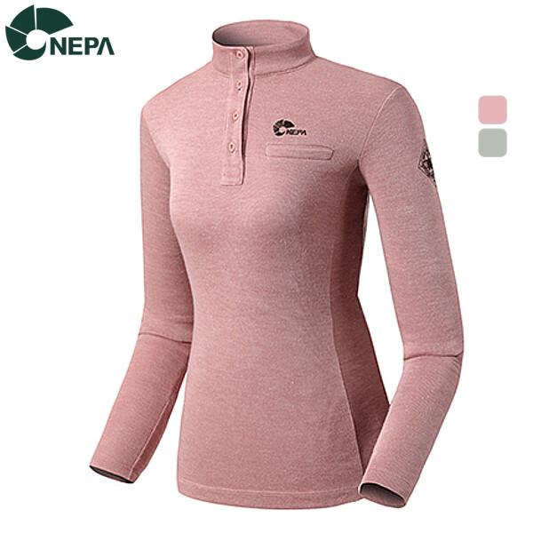 NEPA 네파 여성 엠오지원 짚티셔츠 7365441