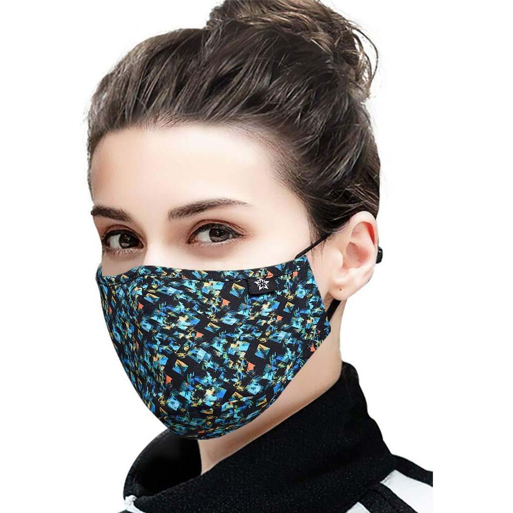 SPRINGSEAON 초미세먼지 재사용 PM2.5 귀걸이 마스크 NEW-13 4필터 1개