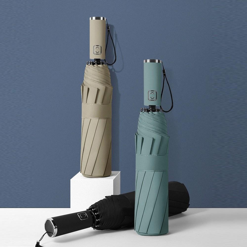 더블에이비 x BEORA 안부러지는 튼튼한 완전자동우산 암막 3단 자동 우산 양산