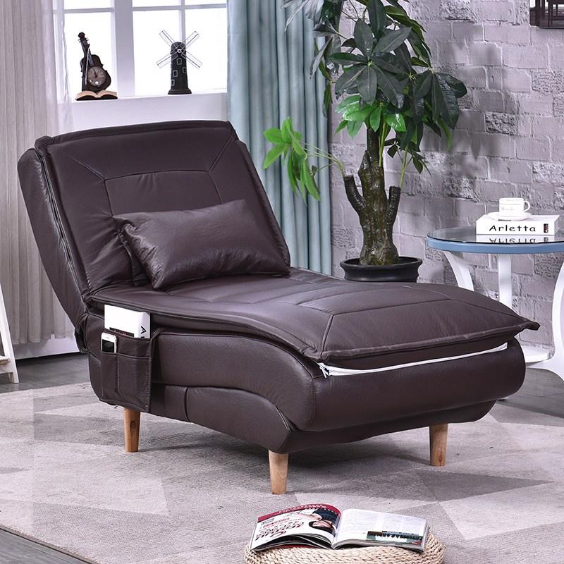 1인용리클라이너소파 빈백쇼파 북유럽스타일의 싱글 귀비 거실 누울수있는의자 소형 귀여운 핫아이템 베란다 침실 작은쇼파, T06-커피그레이