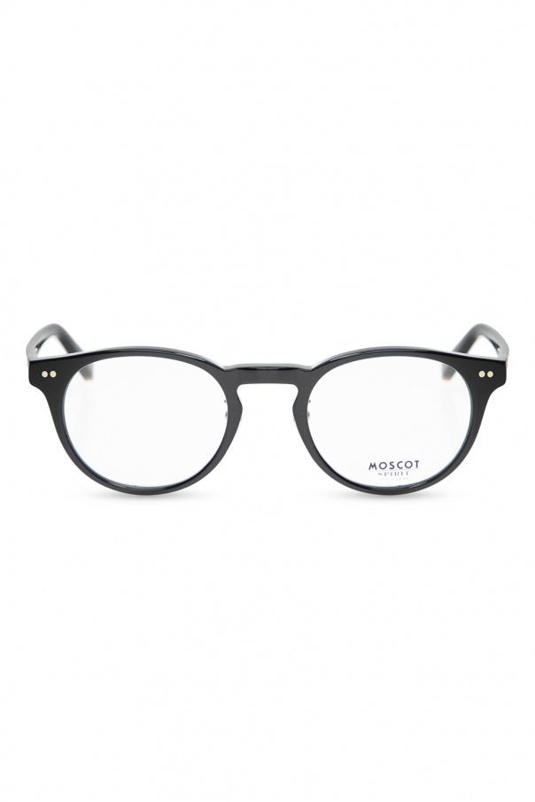 Moscot 'Frankie' optical frames FRANKIE MP 0-0200-01 BLACK 150불 이상 주문시 부가세 별도