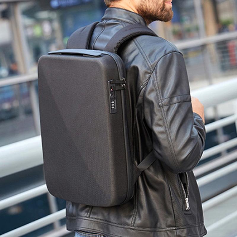 직장인 초슬림 비지니스 EVA 하드케이스 노트북 백팩