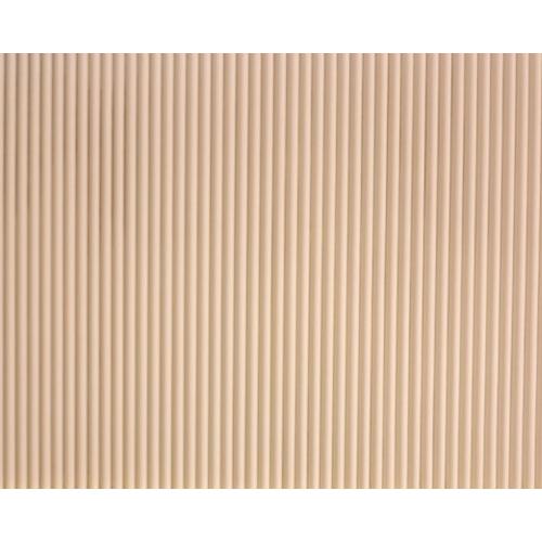 예림 백골 반달 템바보드 9x1200X2400mm (도장용) 벽면 곡면 인테리어 MDF 목재