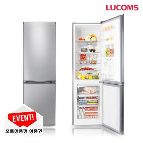 대우 루컴즈 메탈 콤비 냉장고 250L 배송 +설치 포함 1인 자취방 필수, 메탈 냉장고