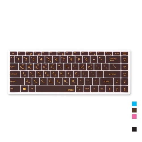 [바보사랑]MSI PS42 용 문자인쇄키스킨(MSI05), 블랙, 본상품선택