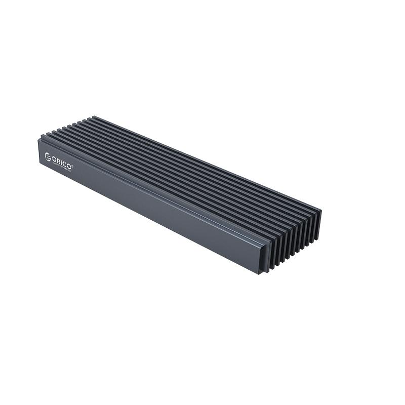 오리코 M2PJM-C3 Dual M.2 SSD 외장하드케이스 NVME SATA USB3.1(Gen2) C-C케이블 알루미늄 방열판 디자인