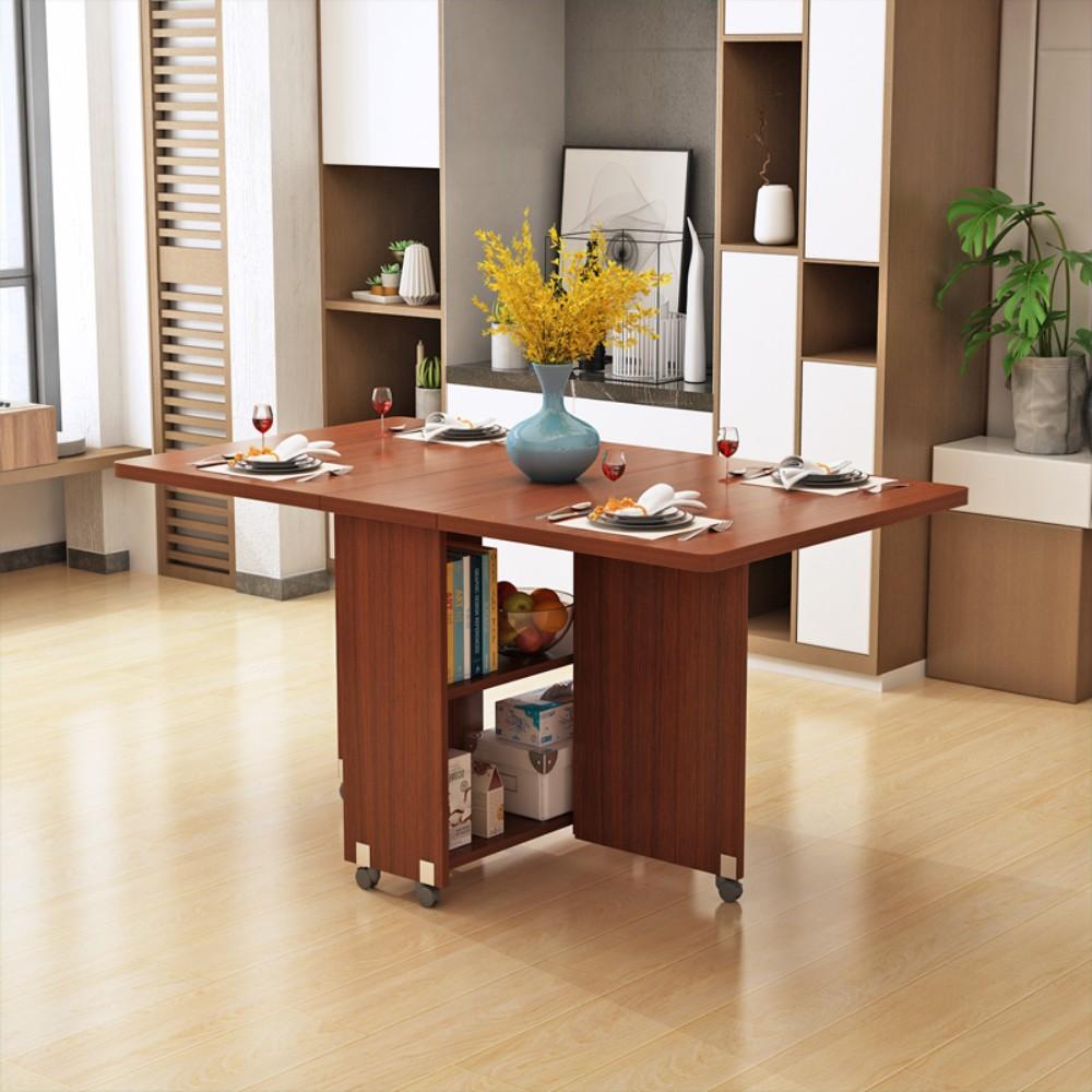 가정용 다기능 접이식 이동식 식탁 테이블, 1.2-체크