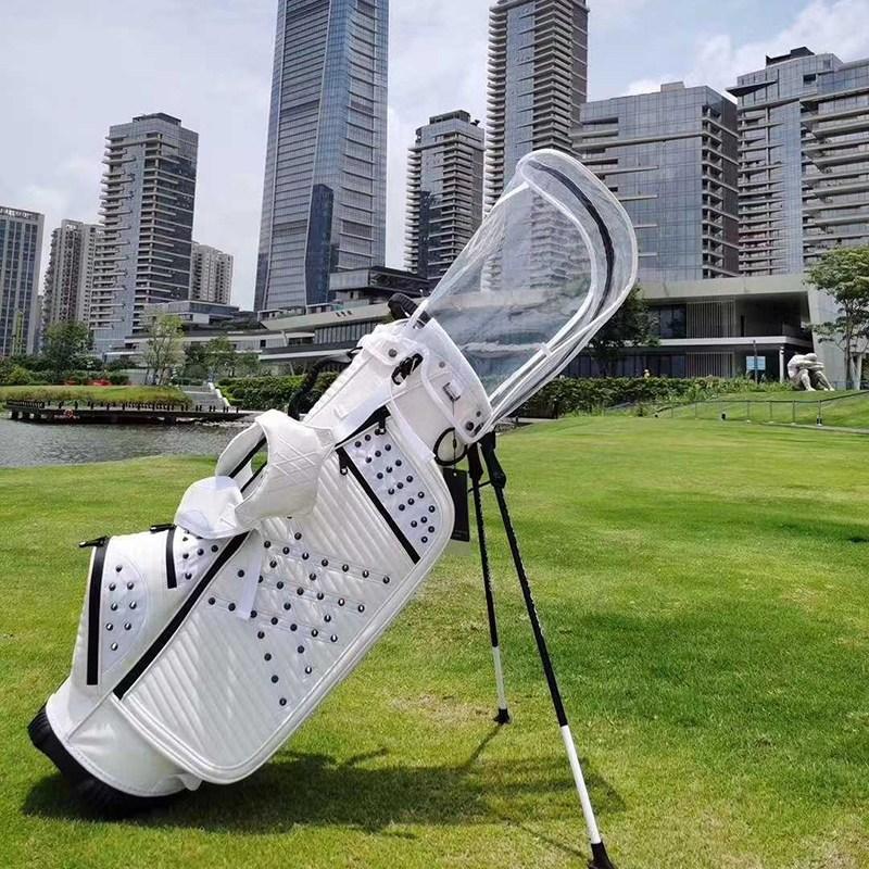 스탠드 골프백 패션 트랜드 캐디백 가벼운 투숄더 남여 골프가방, F