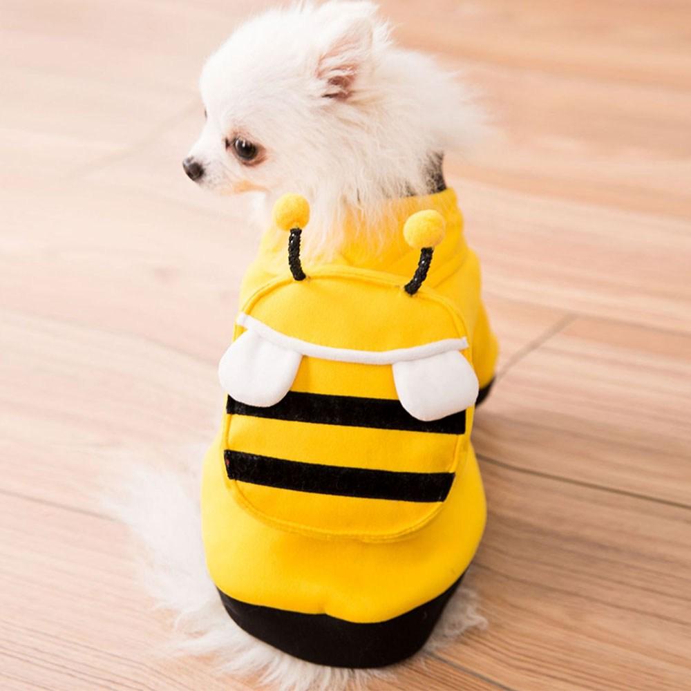 마이바우 꿀벌가방 맨투맨 반려동물 의류