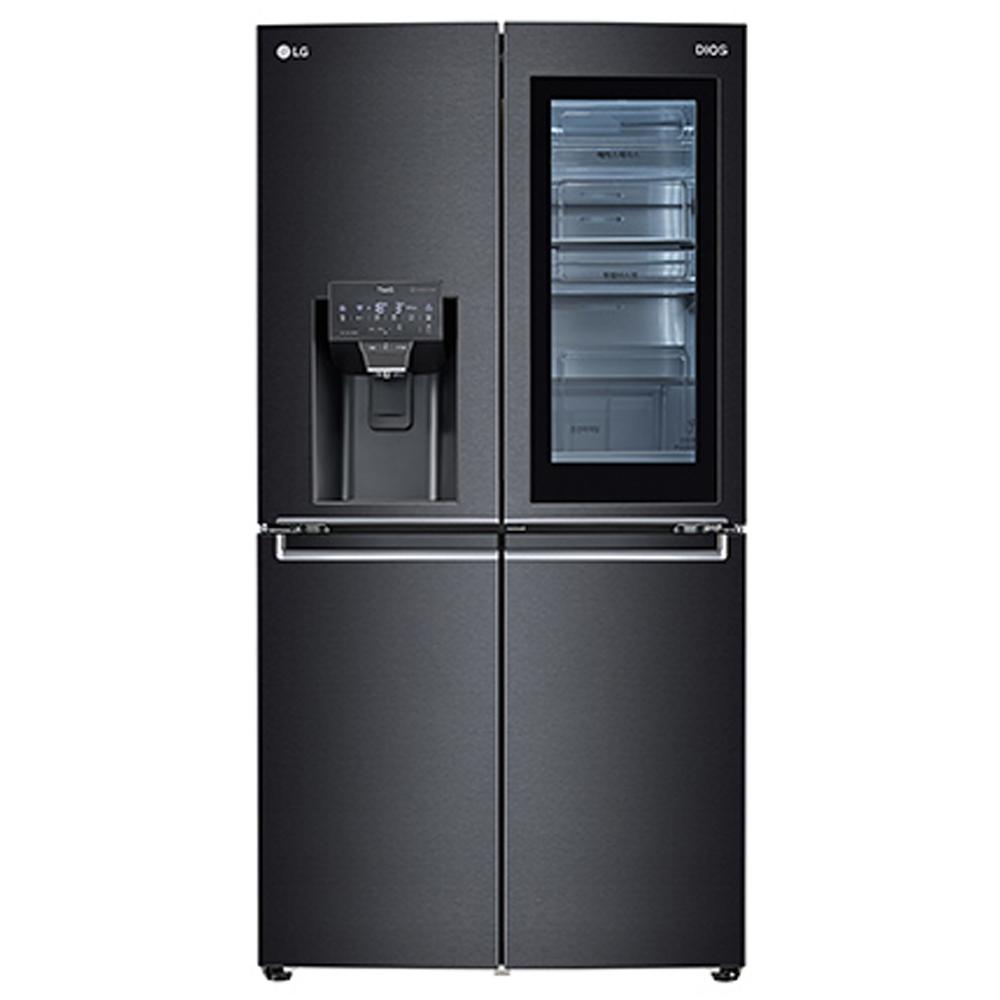 LG전자 J823MT75V 인공지능 얼음정수기 냉장고, 단일모델