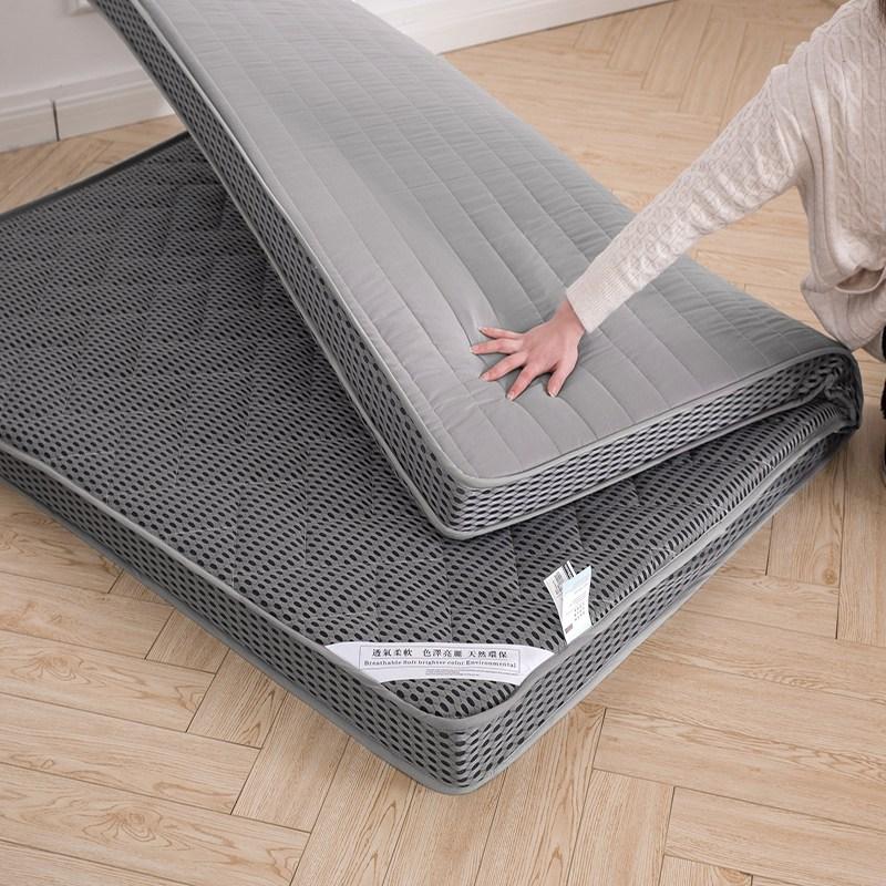 폴라도레 바닥 매트리스 토퍼 요매트 두꺼운 패드 침대 매트 +폴라도레사은품증정, K타입