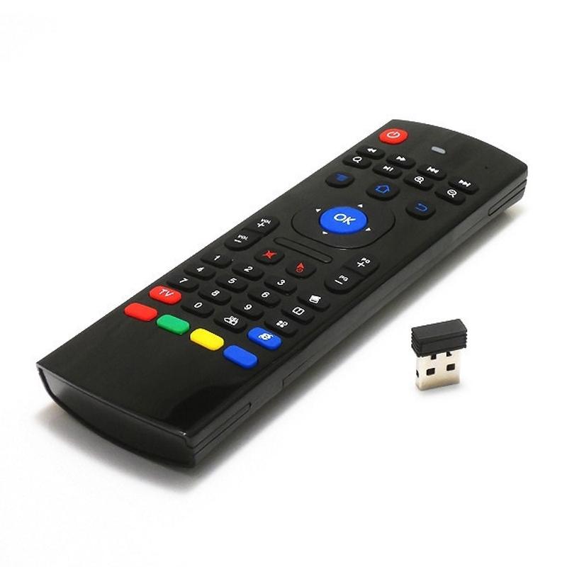 리모컨 리모콘 Redamigo mx3 휴대용 2.4g 무선 원격 제어 키보드 컨트롤러 스마트 tv 안드로이드 tv 박스 미니 pc rclmx3 에어 마우스, 검정 (POP 4740103427)
